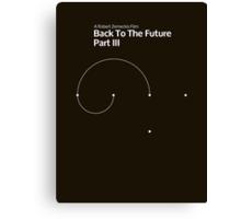 pbbyc - Back to the Future Pt 3 (min) Canvas Print