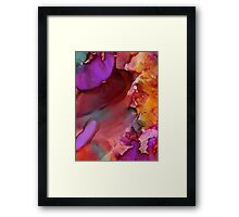 Into the FIRE Framed Print