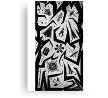 Space-a-Cons Canvas Print