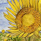 sunflowers painting by adrienne75