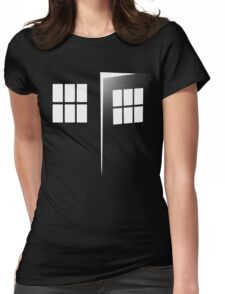 Police Call Box Womens Fitted T-Shirt