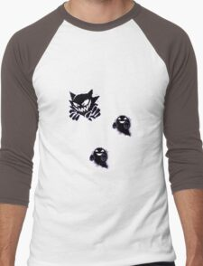 Haunter, Ghosts and such purple Men's Baseball ¾ T-Shirt