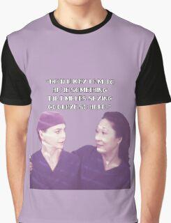 Cristina and Meredith goodbye Graphic T-Shirt