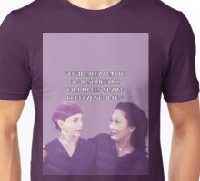 Cristina and Meredith goodbye Unisex T-Shirt