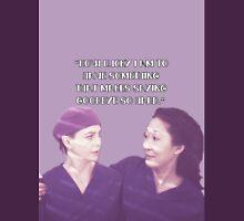 Cristina and Meredith goodbye Unisex T-Shirt
