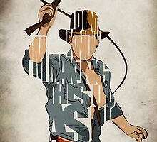 Indiana Jones by Ayse Toyran