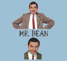Mr. Bean - The Faces Kids Tee