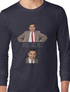 Mr. Bean - The Faces Long Sleeve T-Shirt