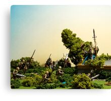 Dust & Ashes Canvas Print