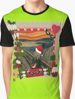 the scream christmas Graphic T-Shirt