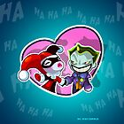 Harley and Joker by vancamelot