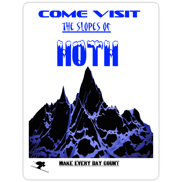 Come explore the slopes of Hoth by tia knight