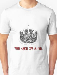 The Cake Is A Lie T-Shirt