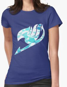 Ice Fairy Tail Logo #2 Womens Fitted T-Shirt