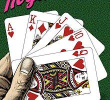 Royal Flush - Poker by Jovan Djordjevic