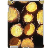 Wood Pile iPad Case/Skin