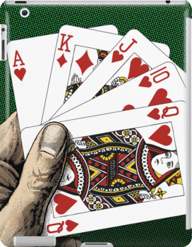 Royal Flush - Poker by Jovan Djordjevic