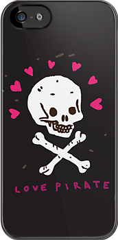 Funny Skull Pirate Flag by Dmitry Narozhny