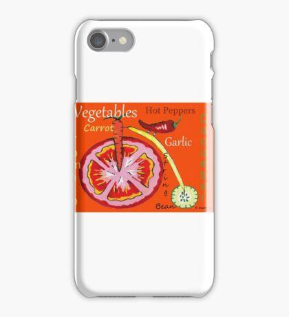 Vegetables iPhone Case/Skin
