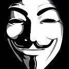 anonymous t-shirt version 2 by parko