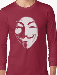 anonymous t-shirt version 2 Long Sleeve T-Shirt