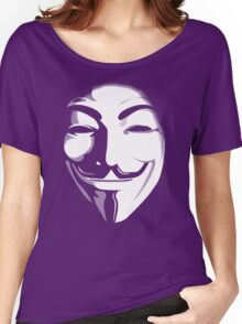 anonymous t-shirt version 2 Women's Relaxed Fit T-Shirt