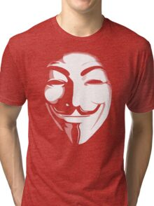 anonymous t-shirt version 2 Tri-blend T-Shirt