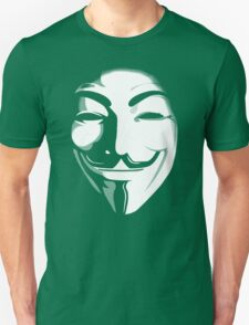 anonymous t-shirt version 2 Unisex T-Shirt