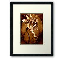 The Jewel Thief. Framed Print