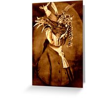 The Jewel Thief. Greeting Card