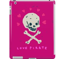 Funny Skull Pirate Flag iPad Case/Skin