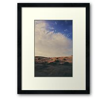 The Miles Between Us Framed Print