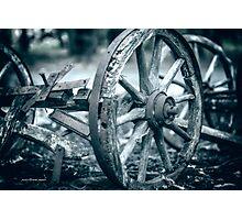 Squeaky Wheel Photographic Print