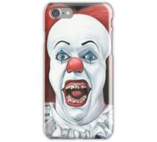 Pennywise the clown - Oil Painting iPhone Case/Skin