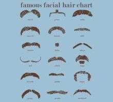 Famous Facial Hair Styles Chart by taudalpoi
