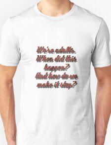 Meredith Grey - Adults Unisex T-Shirt