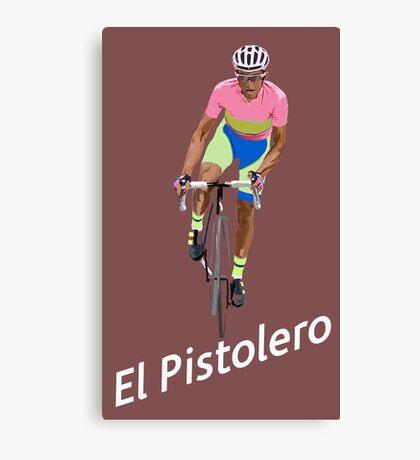 El Pistolero Canvas Print