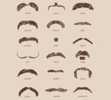Famous Facial Hair Styles Chart number II by taudalpoi
