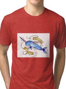 Unicorn Of the Sea Tri-blend T-Shirt