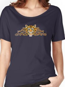Tiger Head T-Shirt Women's Relaxed Fit T-Shirt