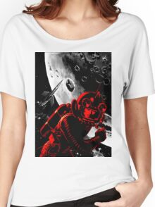 Reds in Space Women's Relaxed Fit T-Shirt