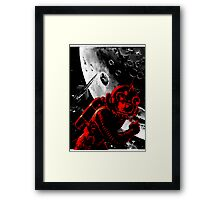 Reds in Space Framed Print