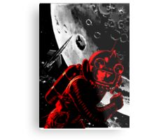 Reds in Space Metal Print