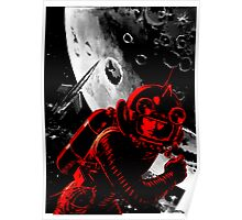 Reds in Space Poster