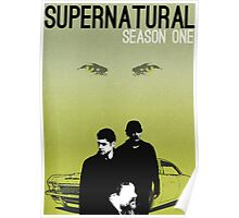 Supernatural Season One Poster