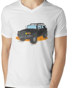 FJ Cruiser Mens V-Neck T-Shirt