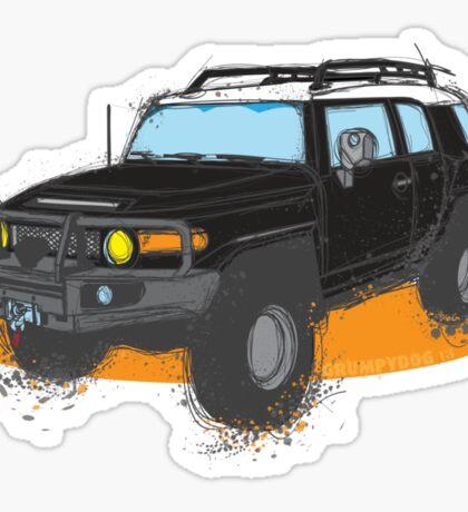 FJ Cruiser Sticker