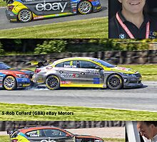 Rob Collard- BTCC by Matt Eagles