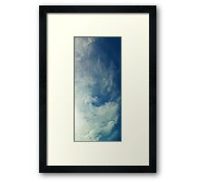 ©HCS Airplane Line Framed Print