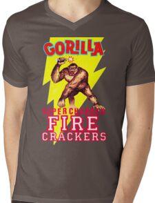 GORILLA BRAND  Mens V-Neck T-Shirt